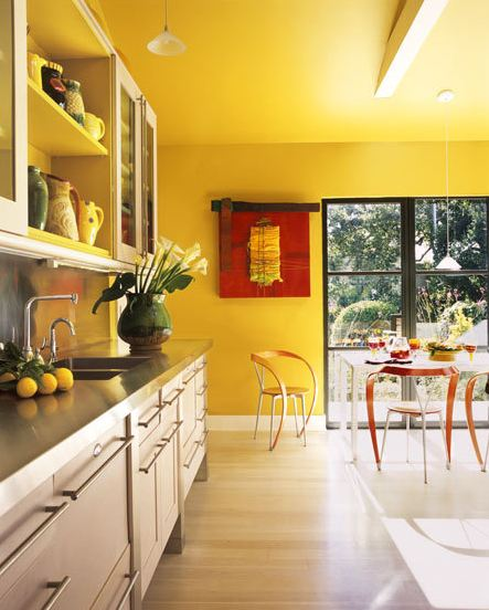Painted Kitchen Ideas For Walls: Atmopshere Blog -Atmopshere Blog